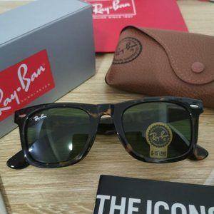 Ray-Ban RB3016 Tortoiseshell Sunglasses 51mm